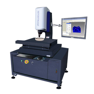 Auto Vision Measuring Machine Test Wheel Gear Accuracy 3+L/200 μm LED Illumination