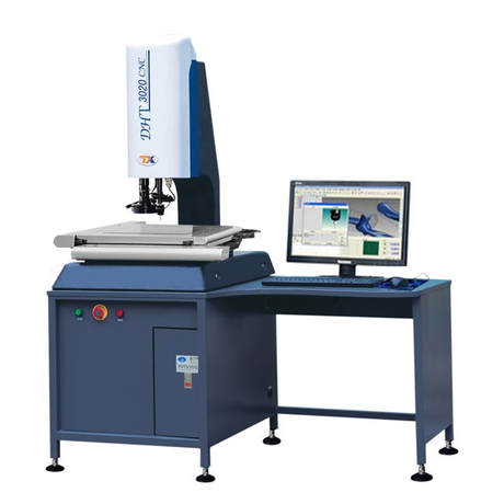 Industrial Imaging Optical Coordinate Measuring Machine with Software