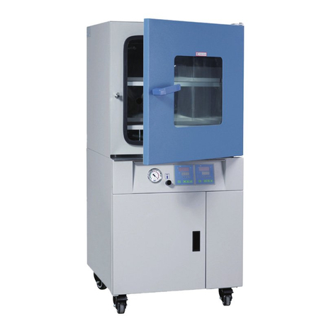 Vacuum drying cabinet microcomputer control