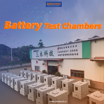 Battery temperature explosion-proof test chamber is shipped to the new energy battery factory